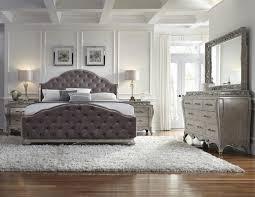 tufted bedroom furniture furniture grey leather tufted kingsize bed with large dresser