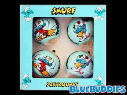 joyeux noel smurf ornament