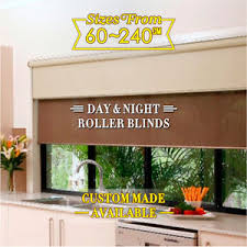 Dual Day And Night Roller Blinds Dual Day Night Double Roller Blinds Fits 60 210cm Width X 210cm