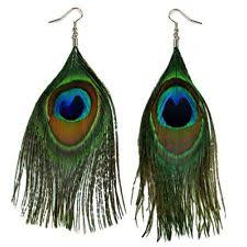 feather earrings s feather stainless steel fashion earrings ebay
