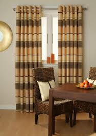 Dining Curtains Interior Design Charming Horizontal Striped Curtains For Interior