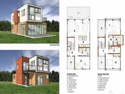 Home Building Blueprints by Shipping Container Building Plans In 2 Shipping Container House