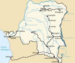 Republic Of Congo Map Democratic Republic Congo Map