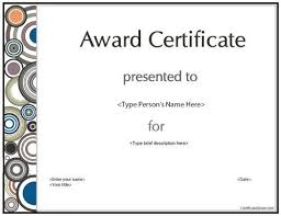 business certificates templates blank printable word business