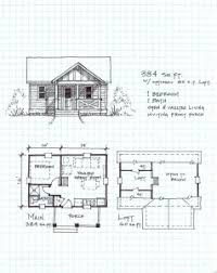 free small cabin plans garden cottage e one level with loft 238x300 free small cabin