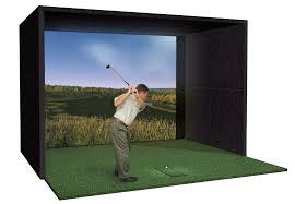 Golf Curtains Home Golf Simulator Buildout