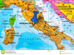 Bari Italy Map by Vatican City Italy Map Stock Photo Image 82630723
