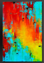 25 trending abstract acrylic paintings ideas on pinterest