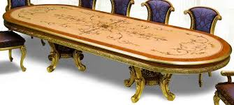 Luxurious Dining Table 21 Exquisite Marquetry And Detail Luxury Dining Furniture