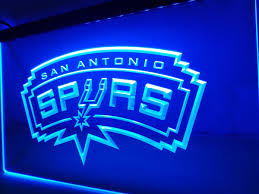 Home Decor San Antonio San Antonio Spurs Led Sign U2013 Vintagily