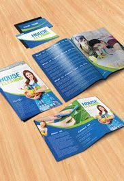 cleaning brochure templates free house cleaning brochure pack free psd template by elegantflyer