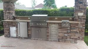 kitchen cheerful image of houston outdoor kitchen decoration