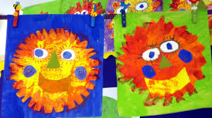 merry mexican suns art activity for kids
