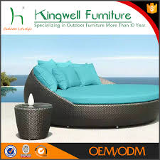 Hd Designs Patio Furniture by Round Rattan Outdoor Bed Outdoor Daybed Round Rattan Daybed Round