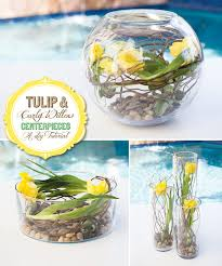 curly willow centerpieces diy tutorial tulip curly willow centerpieces hostess with