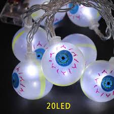 eyeball decorations halloween aliexpress com buy 10led 20led eyeball fairy string light