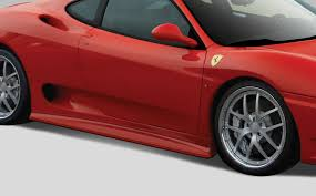ferrari side 00 04 ferrari 360 modena eros v 1 overstock side skirts body kit