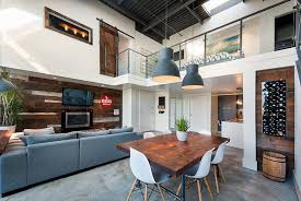 Wooden Table Ls For Living Room 30 Ways To Create A Trendy Industrial Dining Room