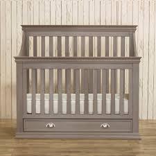 Grey Mini Crib Franklin Ben Dresser Weathered Grey