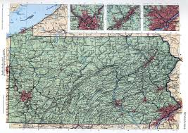 State Of Pennsylvania Map by Pennsylvania Mapfree Maps Of Us