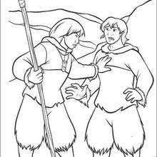 brother bear 20 coloring pages hellokids