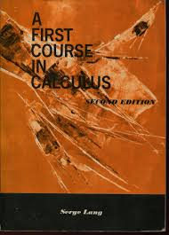 a second course in calculus serge lang abebooks