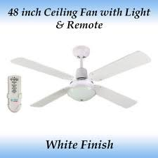 ceiling fans with remote control ebay