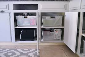 Kitchen Cabinet Organizer by Stacy Charlie Kitchen Cabinet Organization
