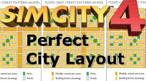 grid layout guide perfect city layout simcity 4 youtube