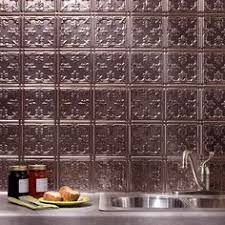 Fasade Backsplash Panels Cheap by Fasade 18 5 In X 24 5 In Cracked Copper Thermoplastic Multipurpose
