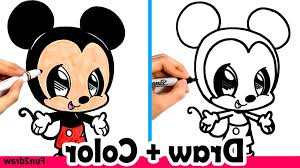 simple drawing mickey mouse disney beautiful lovely couple