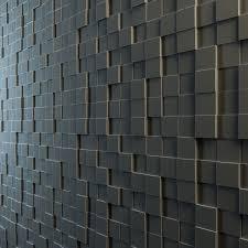 Interior Wall Materials Teak Interior Cladding 3d Wall Cgtrader
