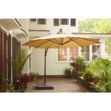 Patio Umbrella With Solar Lights by Patio Umbrellas With Lights 861513f683f1 1000 Hampton Bay Ft