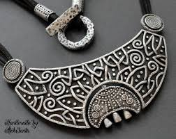 gothic moon necklace images Moon necklace statement jewelry celtic necklace statement necklace jpg