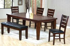 Dining Room Bench Sets Dining Room Table Sets With Bench Blatt Me