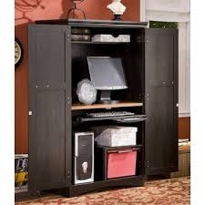 Corner Armoire Computer Desk 11 Best Mission Hide That Messy Desk And Cords Images On