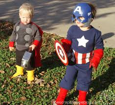 Superhero Family Halloween Costumes Captain America Archives Fun Family Crafts