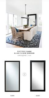 Mirrored Bedroom Furniture Pottery Barn Mirror Archives Copycatchic