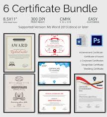 Free Printable Gift Certificate Template Word 50 Creative Custom Certificate Design Templates Free Premium