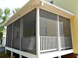 side porches porch makeover screen installation