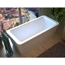 60 X 34 Bathtub Atlantis Whirlpools Royale 34 X 67 Oval Freestanding Whirlpool