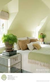 Yellow Feature Wall Bedroom Best 20 Light Green Bedrooms Ideas On Pinterest Sage Green