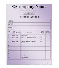 effective meeting agenda template 12 effective meeting agenda
