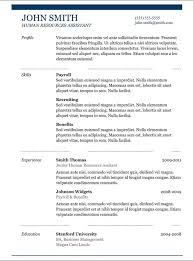 resume template with picture copy and paste resume template jmckell