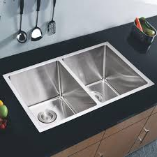 30 inch undermount double kitchen sink undermount small radius stainless steel 31x18x9 0 hole double basin