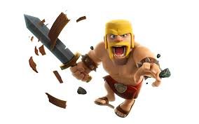 clash of clans barbarian clash of clans
