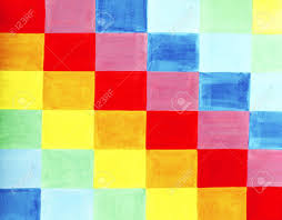 Painting A Flag Colorful Flag Is Made Out Of Various Colored Rectangles Positioned