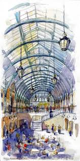 10 sketches from london urban sketchers