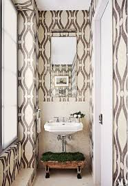 Powder Room Wallpaper by 146 Best Powder Rooms Images On Pinterest Bathroom Ideas Powder