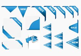 ribbons for sale corner ribbons vector pack free vector stock